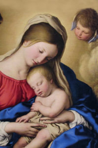 Sassoferrato, właśc. Giovanni Battista Salvi, Sen Dzieciątka Jezus, XVII w