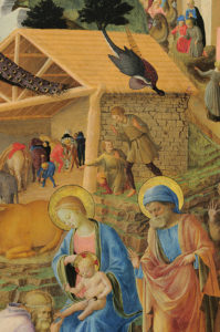Fra Angelico, Fra Filippo Lippi, Pokłon trzech króli, XV w.