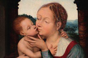Quentin Massys, Madonna z Dzieciątkiem, XVI w.